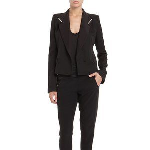 Alexander Wang Double Breasted Peak Lapel Blazer